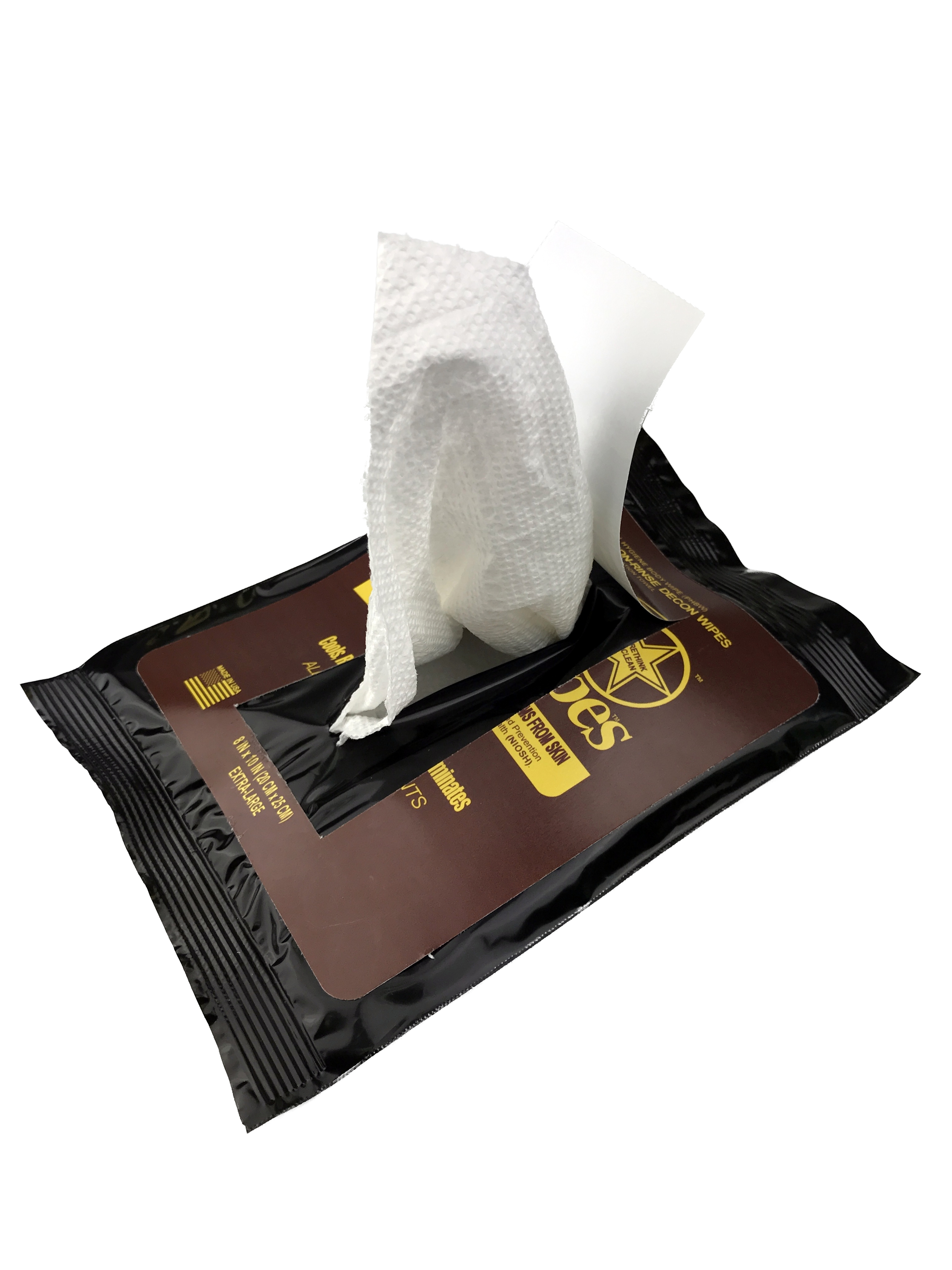 Firefighter Safety Wipes