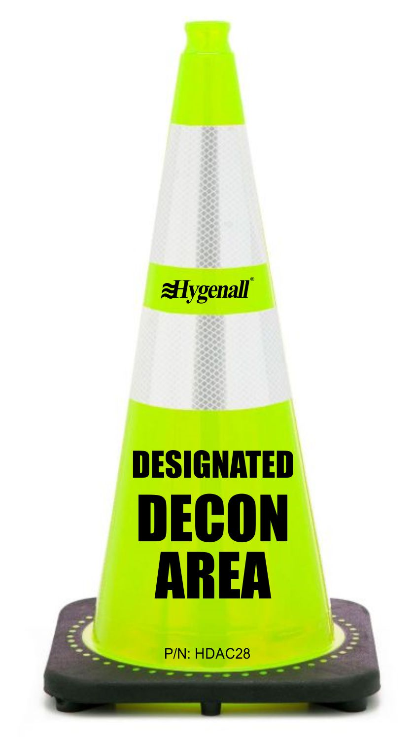 DECONTAMINATION AREA CONE